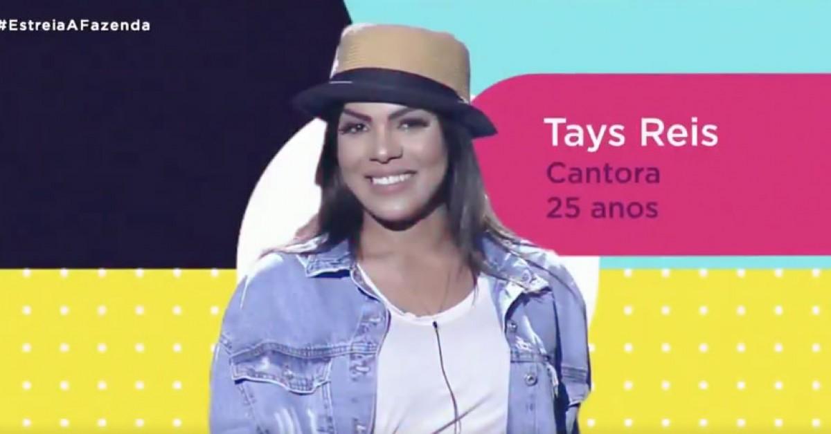 Tays Reis Cantora 25 Anos Vote Na Fazenda 12 Vote Na Roca Dessa Semana