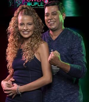 Debby Lagranha e Leandro Amieiro