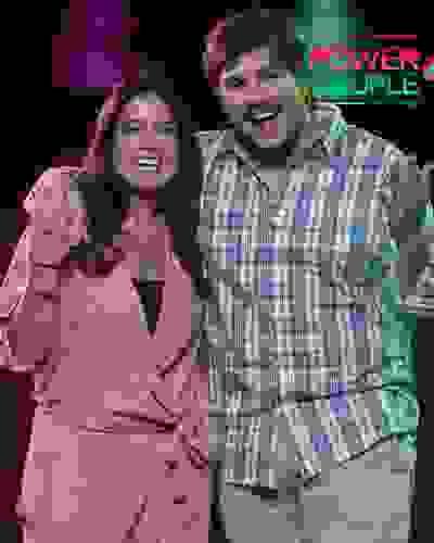 Lucas Salles e Camila Colombo